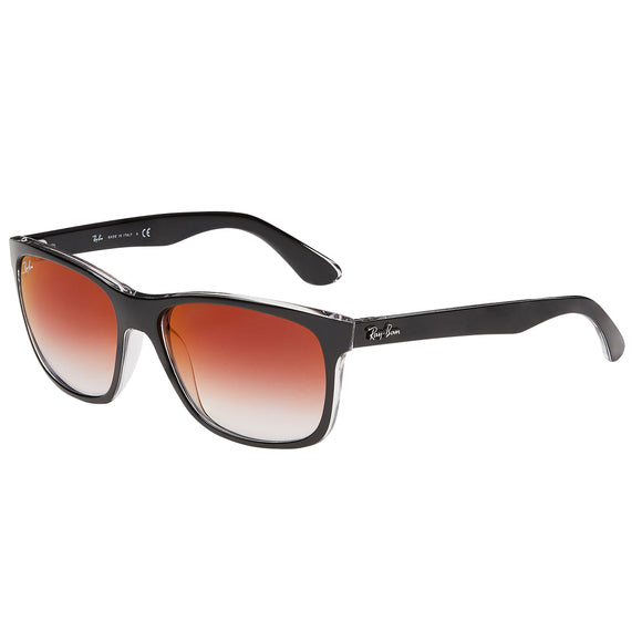 Ray-Ban RB4181 Black Transparent Sunglasses