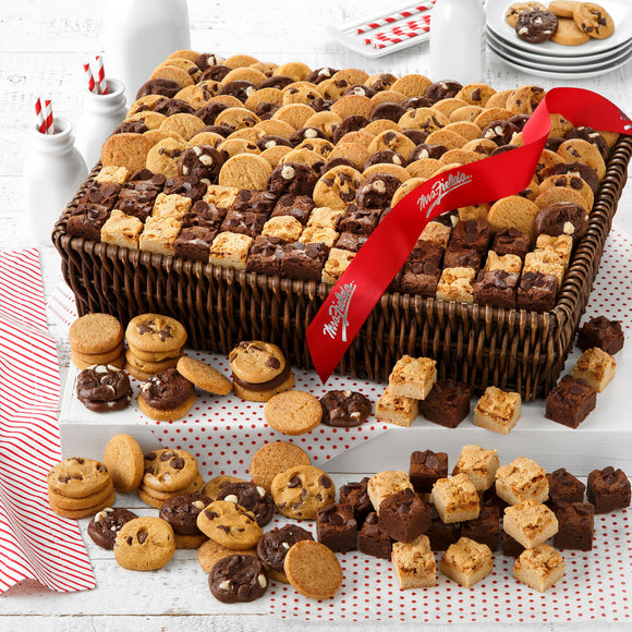 Mrs. Fields Holiday Cookie Deluxe Bites Basket