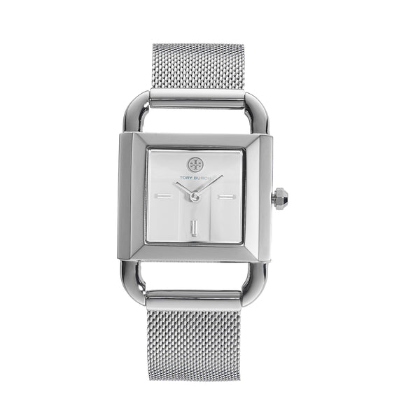Tory Burch Stainless Steel Mesh Ladies Watch