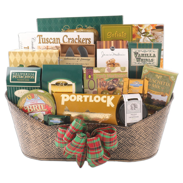 The Connoisseur Gift Basket - Perfect for every food connoisuer