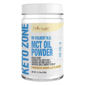 Divine Health Keto Zone MCT Oil Powder,  11.11 oz