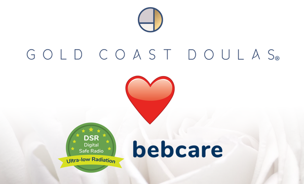 Bebcare best low EMF baby monitor reviewed by Gold Coast Doulas