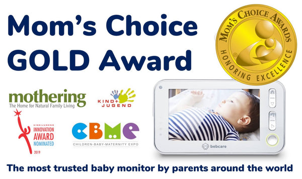 Bebcare Baby Monitor Mom's Choice Award Gold Award