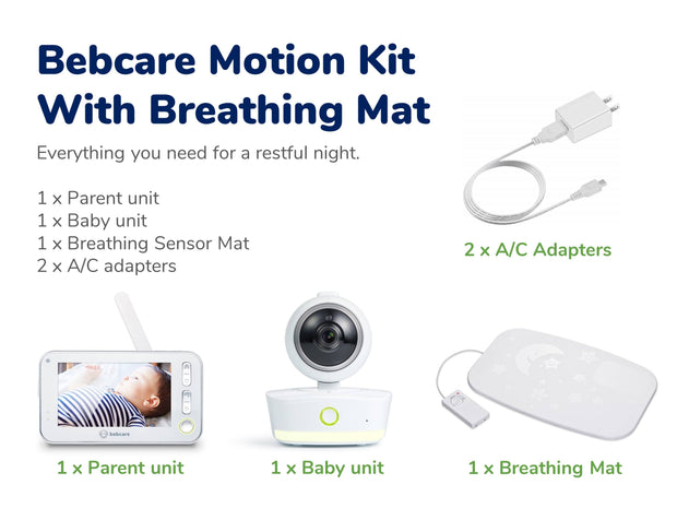 Bebcare Motion Digital Video Baby Monitor