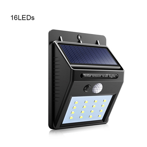 Solar Powered LED Security Light