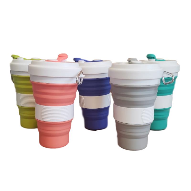 Vaso plegable 550ml