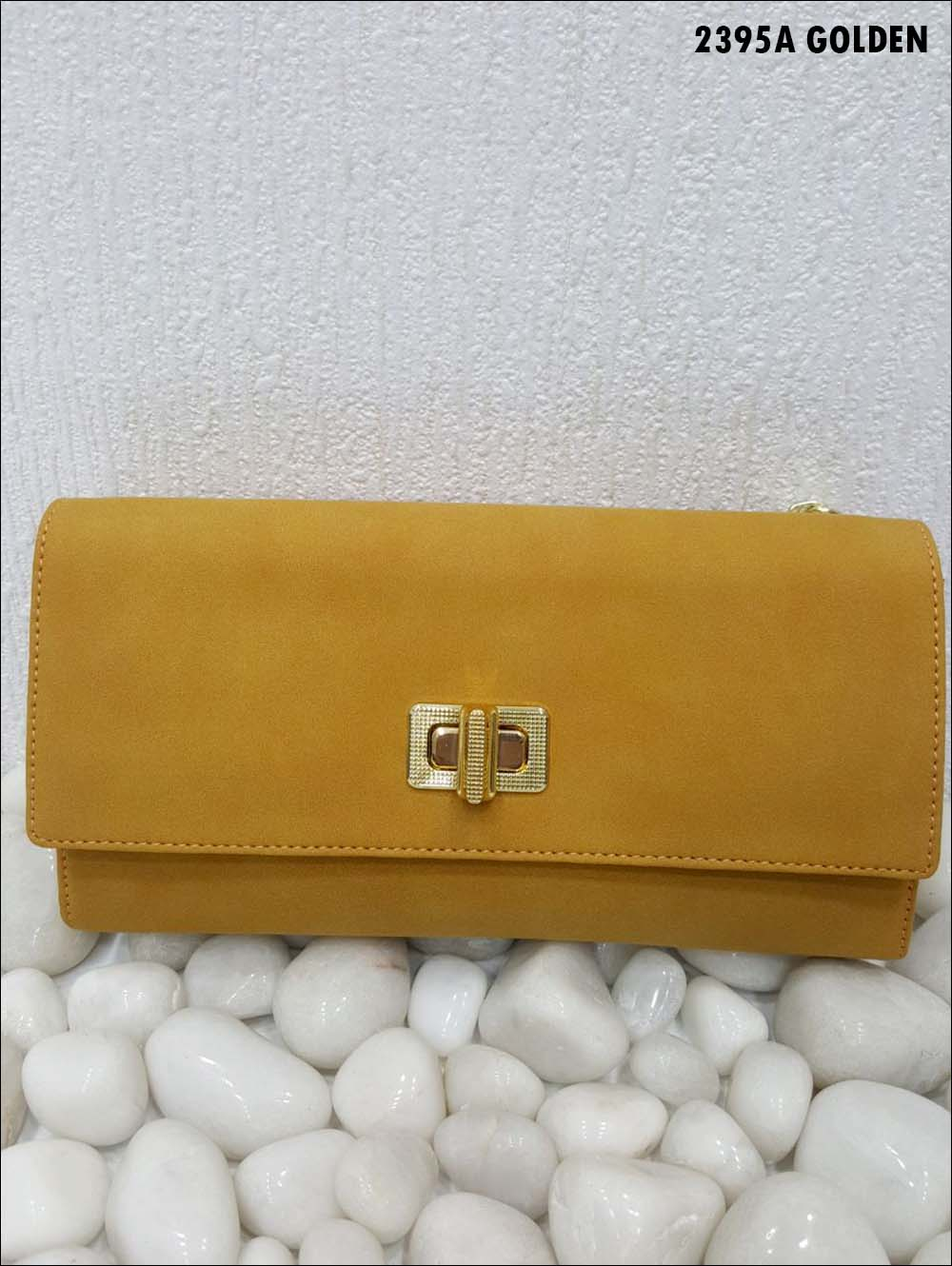 Golden Stylish Women Clutch