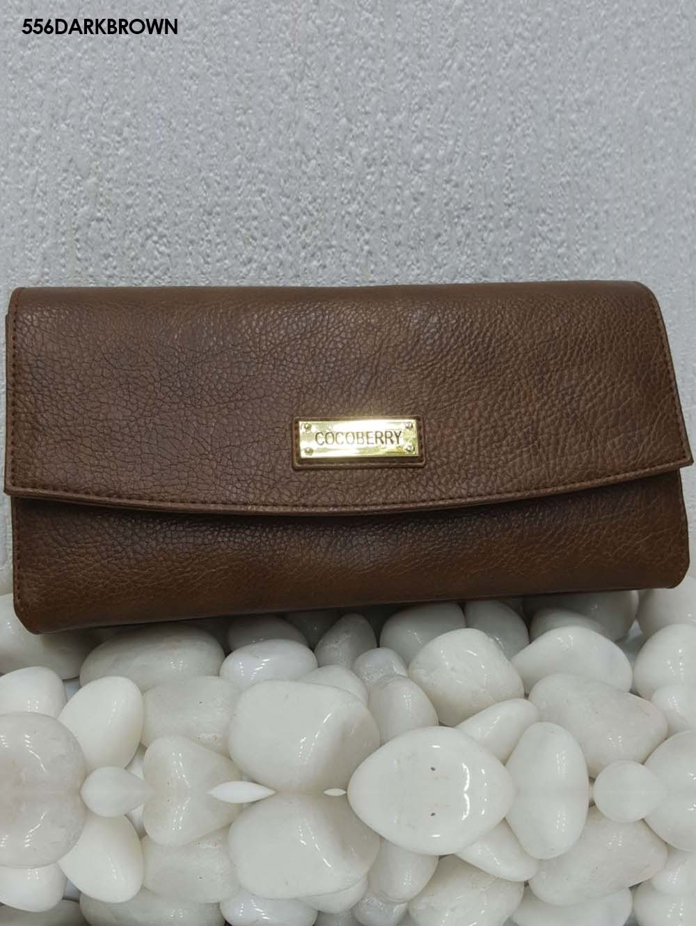 Dark Brown Stylish Women Clutch