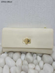 Cream Stylish Women Clutch