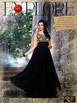 Black Wedding Wear Gown