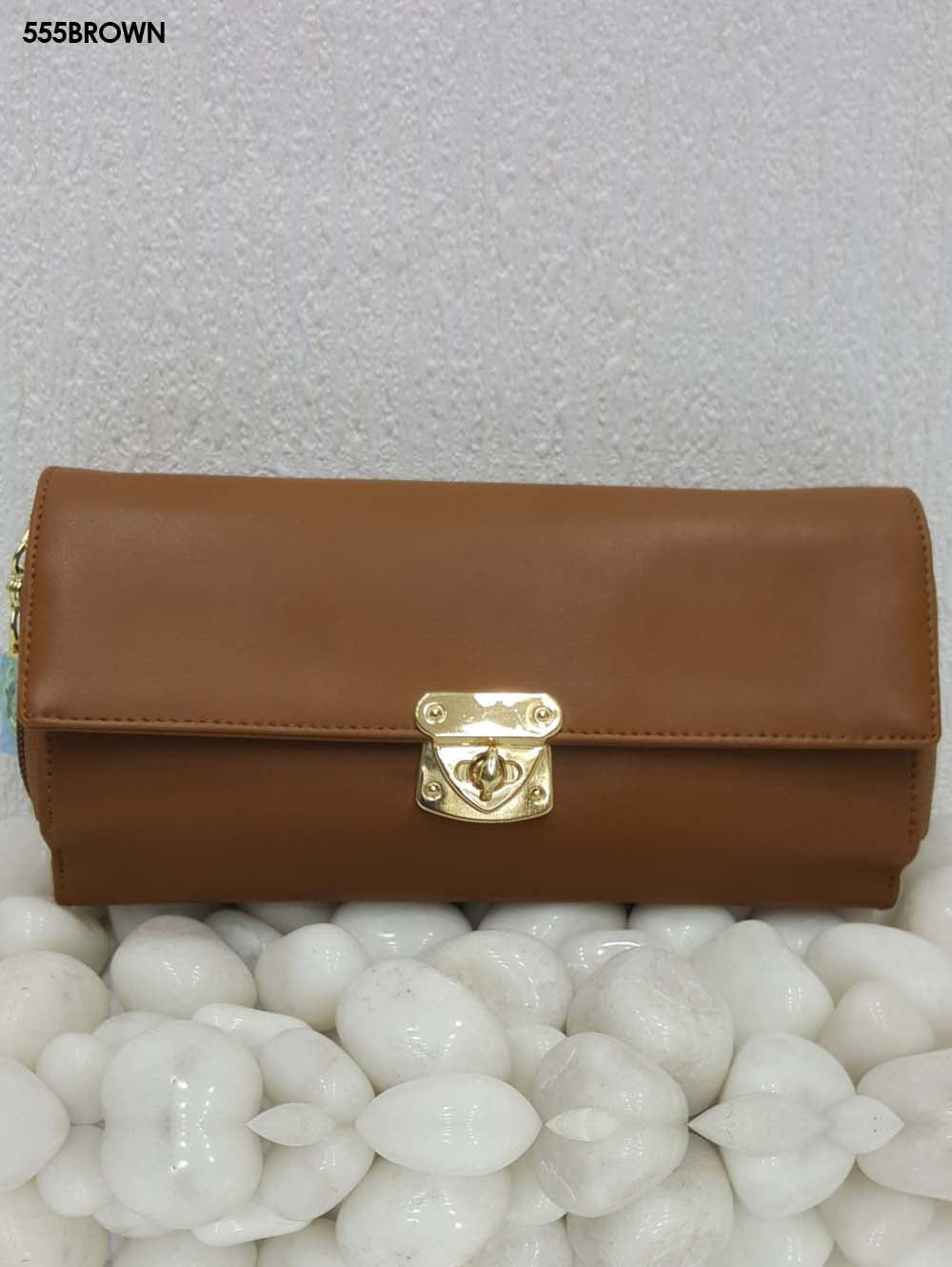 Brown Stylish Women Clutch
