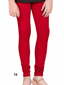 Red 4 Way Cotton Leggings
