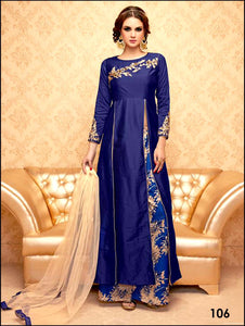 Navy Blue Exclusive Stitched Designer Suit