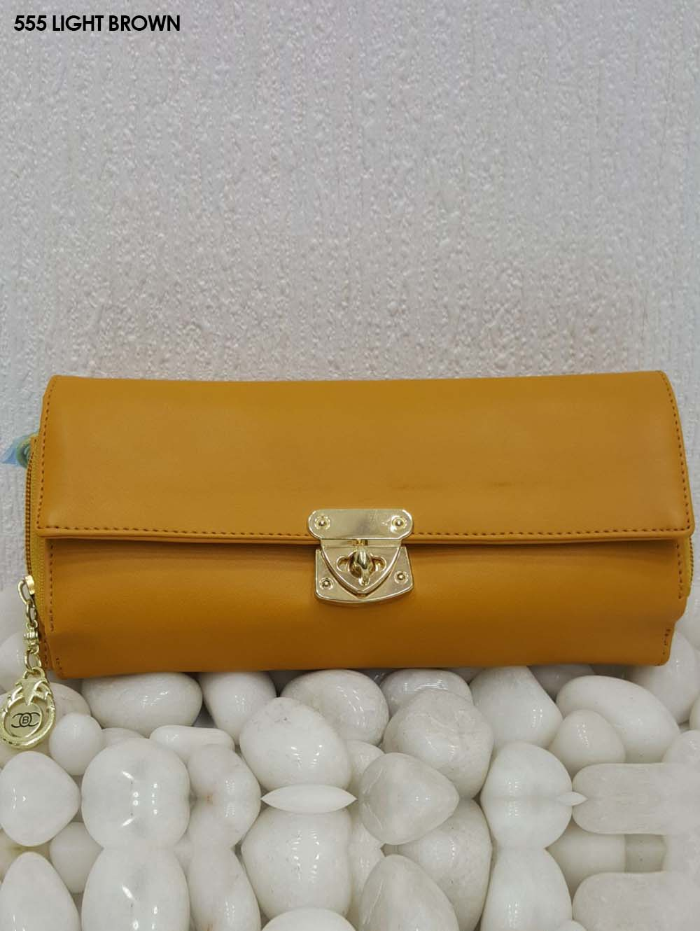 Light Brown Stylish Women Clutch