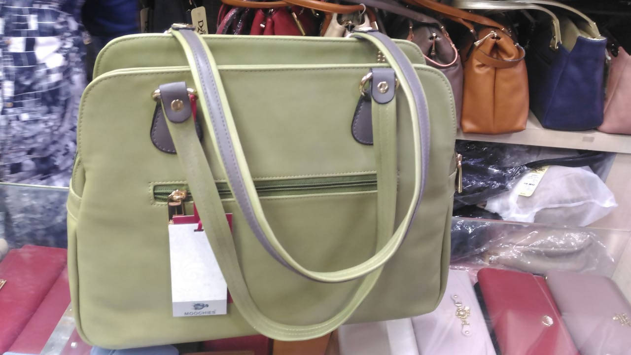 Women Olive Green Shoulder Bag