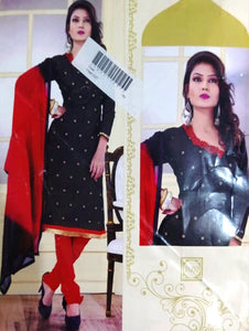 Black Designer Daily Wear Salwar Suit