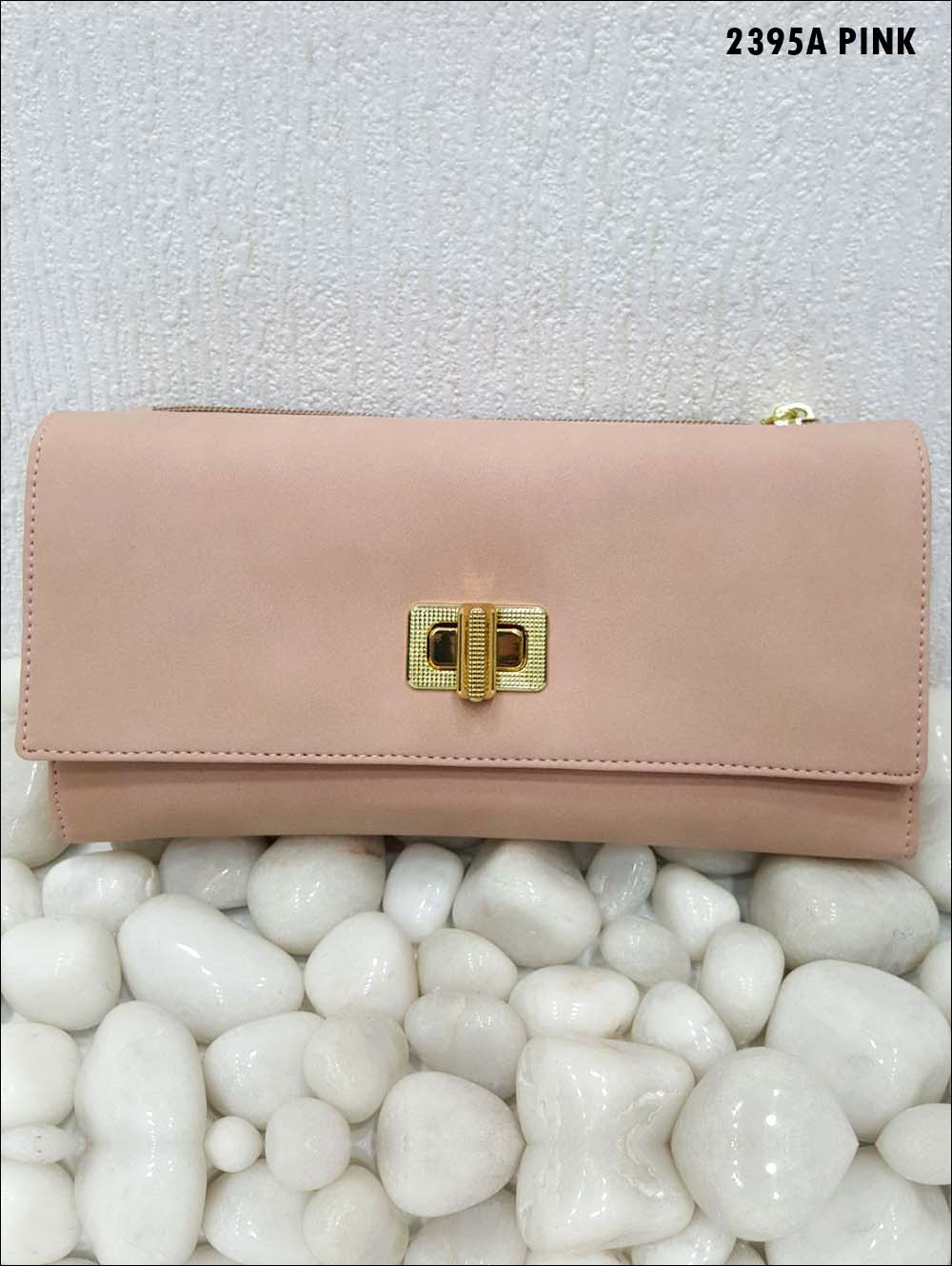 Pink Stylish Women Clutch
