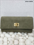 Green Stylish Women Clutch