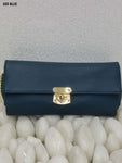Blue Stylish Women Clutch