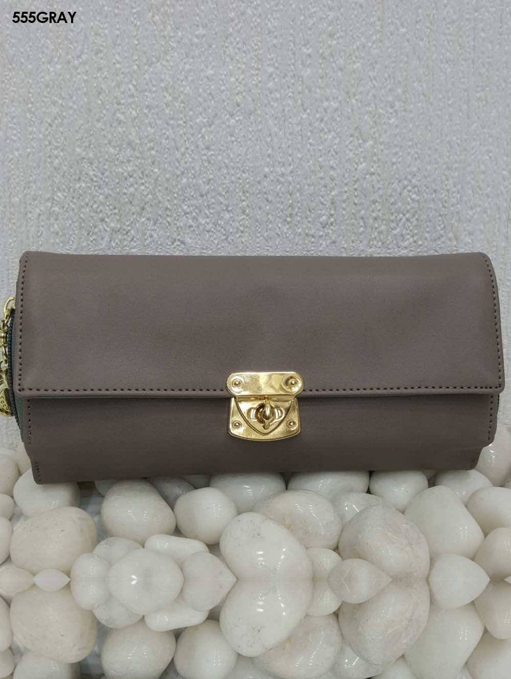 Grey Stylish Women Clutch