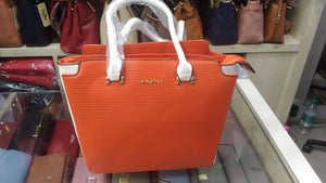 Women Orange Shoulder Bag