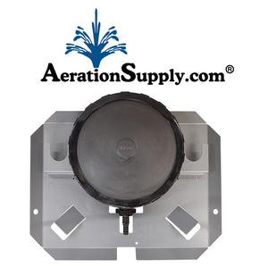 AIRBASE Single Membrane Self Sinking Diffuser Assembly