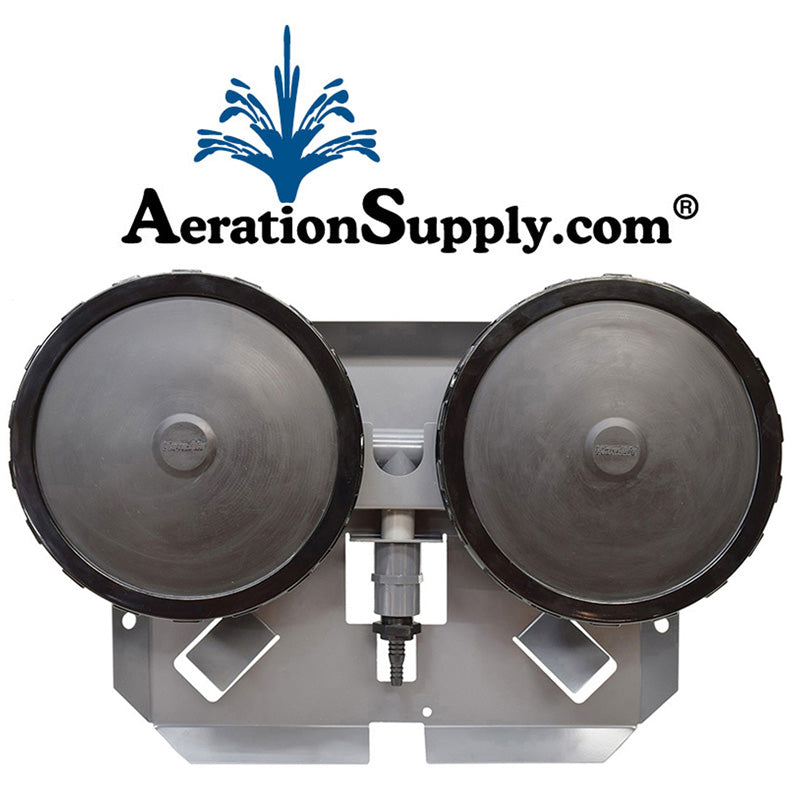 AIRBASE Double Membrane Self Sinking Diffuser Assembly