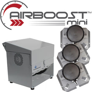 AIRBOOST Mini-345 Small Deep Pond Aerator [For .25 to 1 Surface Acres]