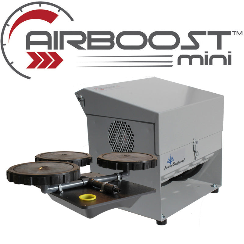 AIRBOOST Mini-145 Small Deep Pond Aerator [For .5 to 1.5 Surface Acres]