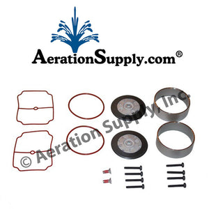 THOMAS 1/3HP Double Piston Compressor Rebuild Kit