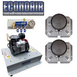 ECONOAIR-200 Pond and Lake Aerator [For .5 to 1.5 Surface Acres]
