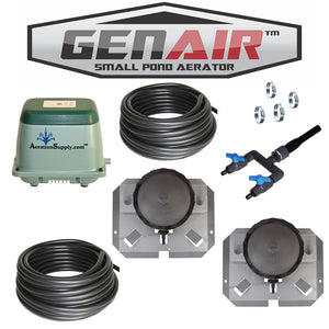 GENAIR-384-XL Small Pond Aerator [For Ponds To 140,000 Gallons]