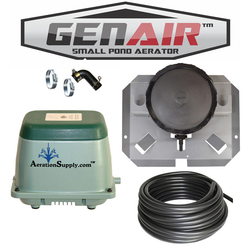 GENAIR-384 Small Pond Aerator [For Ponds To 140,000 Gallons]