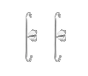 Load image into Gallery viewer, The Bar Earrings