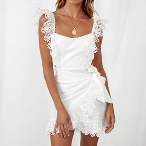 Sexy  White Elegant  dress - Newyorkfashionstyles