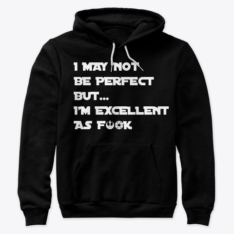 I'Mperfect Excellence Hoodie - Burble