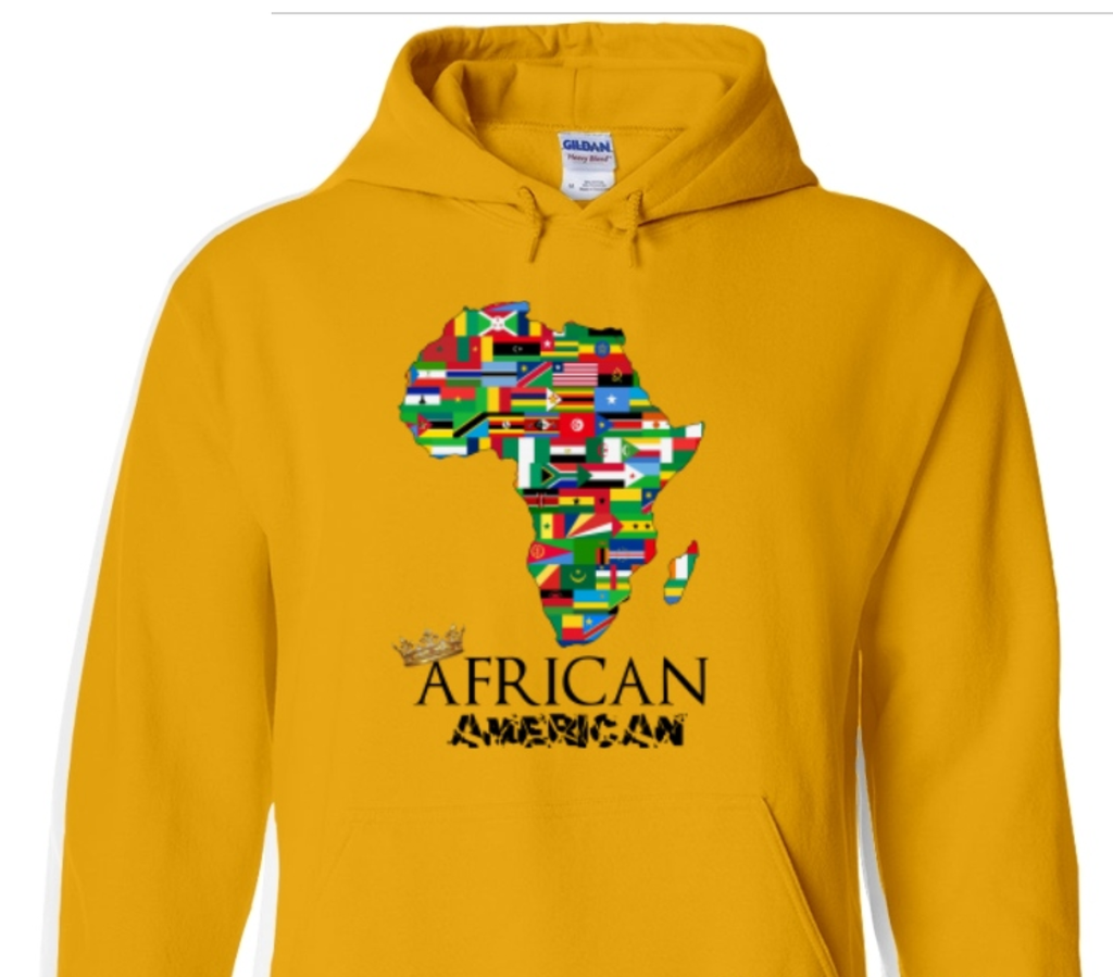 ***LIMITED EDITION*** African american Hoodie