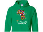 ***LIMITED EDITION***  African american Hoodie - Burble
