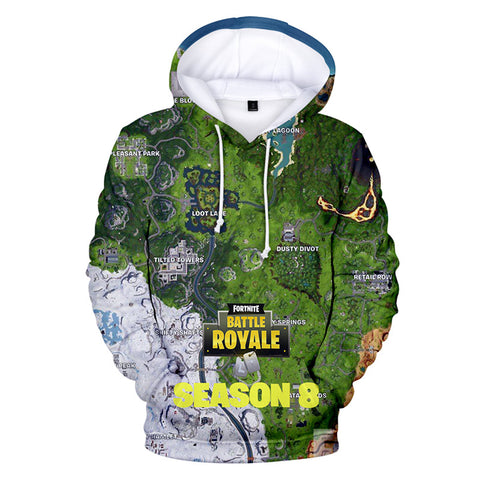 Fortnite Sweatshirt Unisex 3D Hoodies