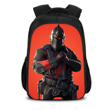 Fortnite Backpack Black Knight16 Inch School Bags