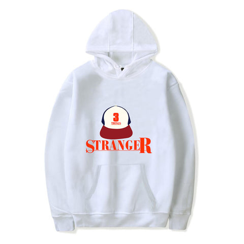Youth Hooded Sweatshirt Stranger Things Illustrated Graphic Hoodie