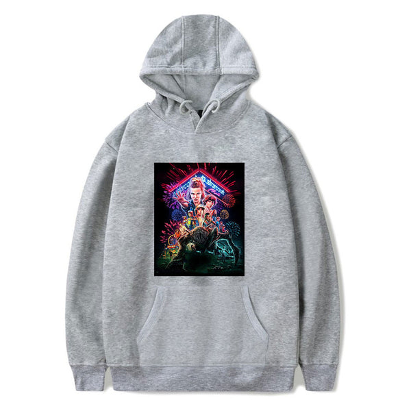 Stranger Things Graphic Clothes Pullover Sweatshirt