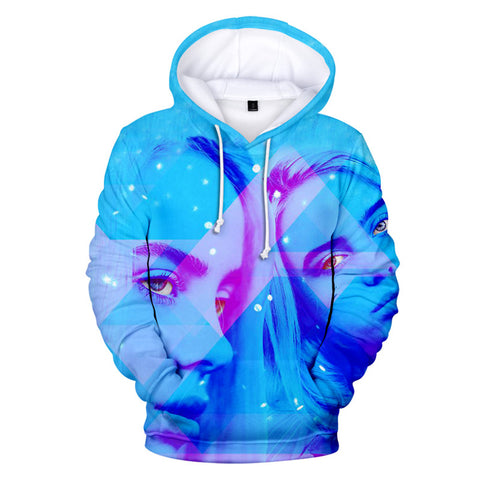 Fashion Billie Eilish Hoodie Casual Long Sleeve Sweatshirt