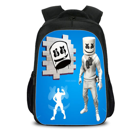Fortnite DJ Marshmello Backpack for boys