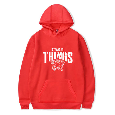 Unisex Stranger Things Print Hoodie Tops Cool Fans Gift