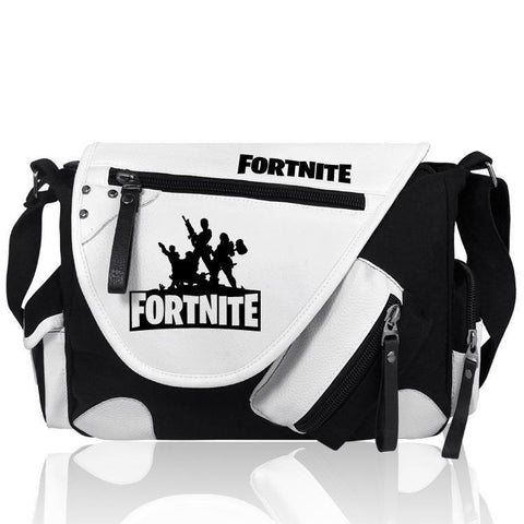 Black White Fortnite Bag Cross Body Bag