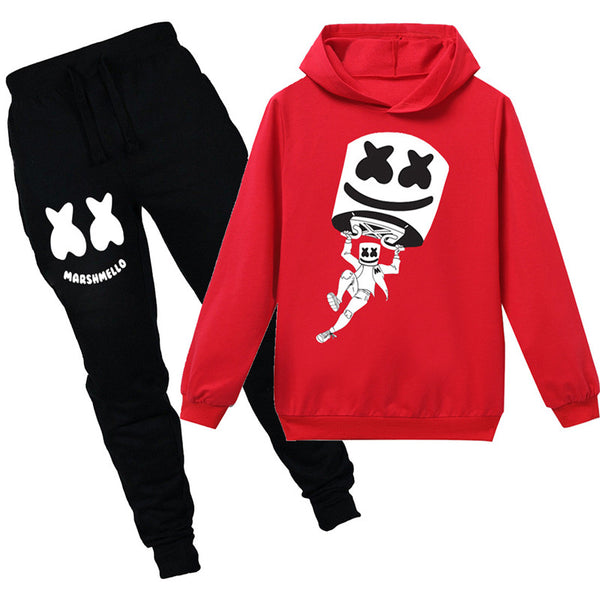 Kids Fortnite 10 Hoodie+Pants Long Sleeves Sweatshirt Suit