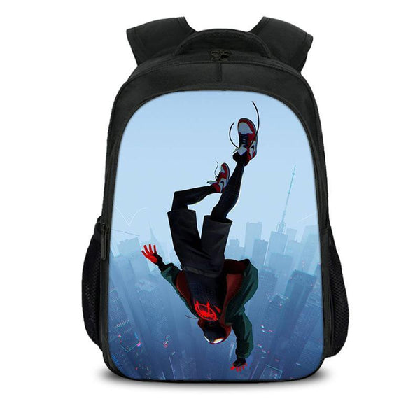 Teen's book bag Spider Man Into The Spider-verse Nylon Backpack for school