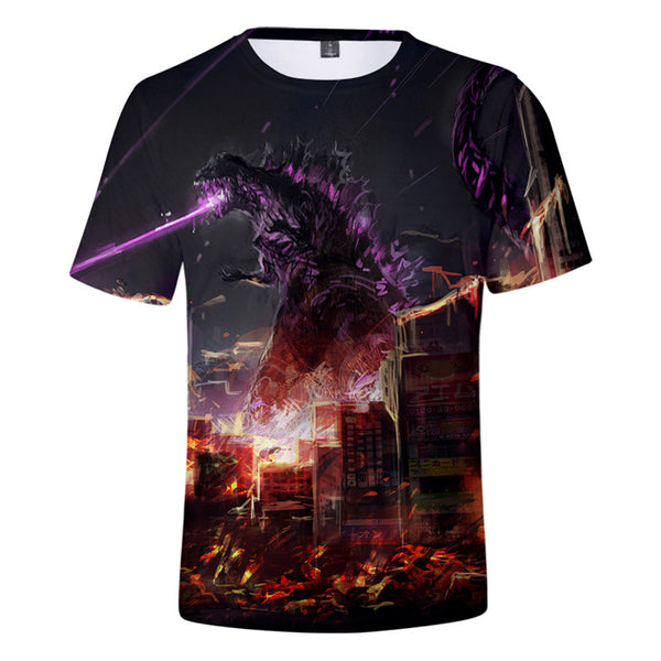 Godzilla T-shirt King of the Monsters Printed Tee