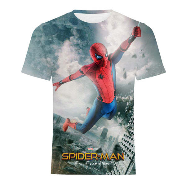 2019 SPIDER MAN T-Shirt Far From Home Tee